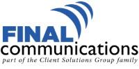 Final Communications logo