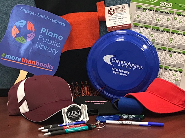 Samples of promotional products